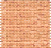 Brick Pattern large Red