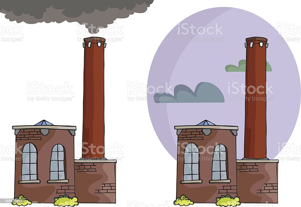Brick Power Plant royalty-free brick power plant stock vector art & more images of brick