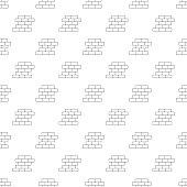 Brick wall pattern seamless