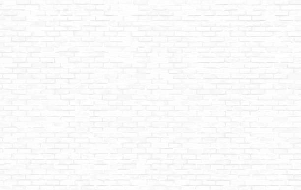 brick wall texture for your design background vector art illustration