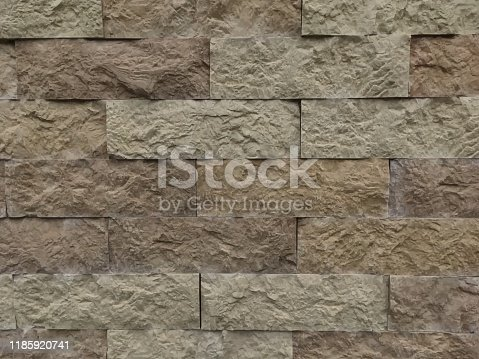 Brick wall texture, gray color. Vector. As background, pattern backdrop for web