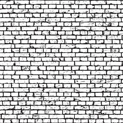 Brick wall texture, grunge background