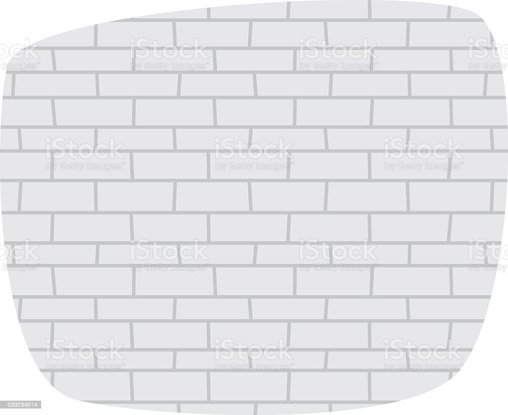 Brick Wall Texture Vector Illustration Stock Illustration