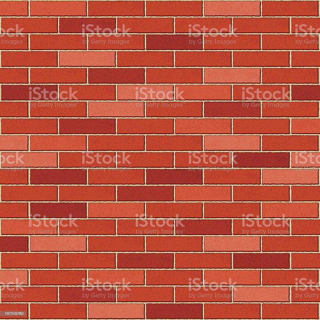 brick wall royalty-free stock vector art