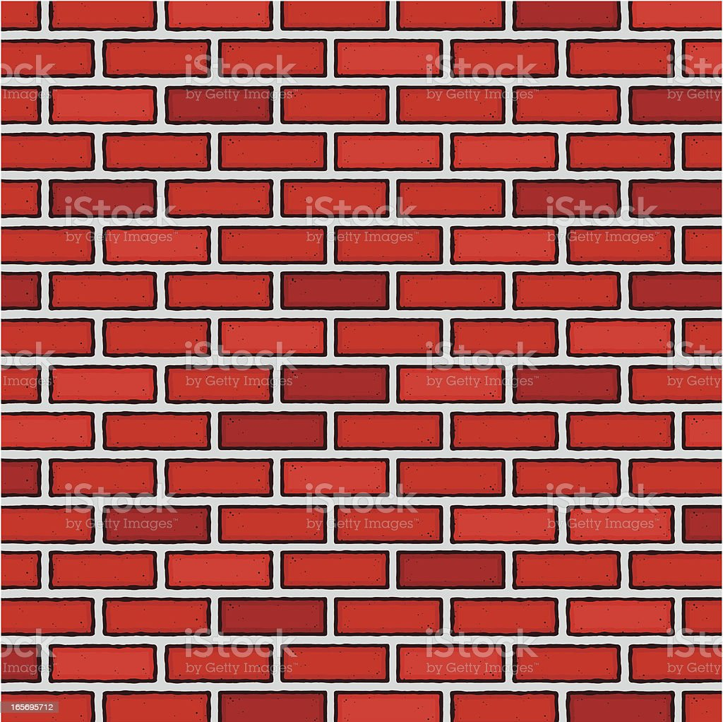 Brick Wall royalty-free brick wall stock vector art & more images of backgrounds