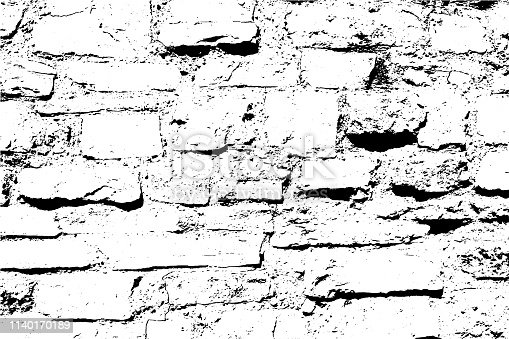 Bricks and stones light vector texture, abstract background. Old brick wall. Overlay illustration over any design to create depth and grungy effect. For posters, banners, retro and urban designs.