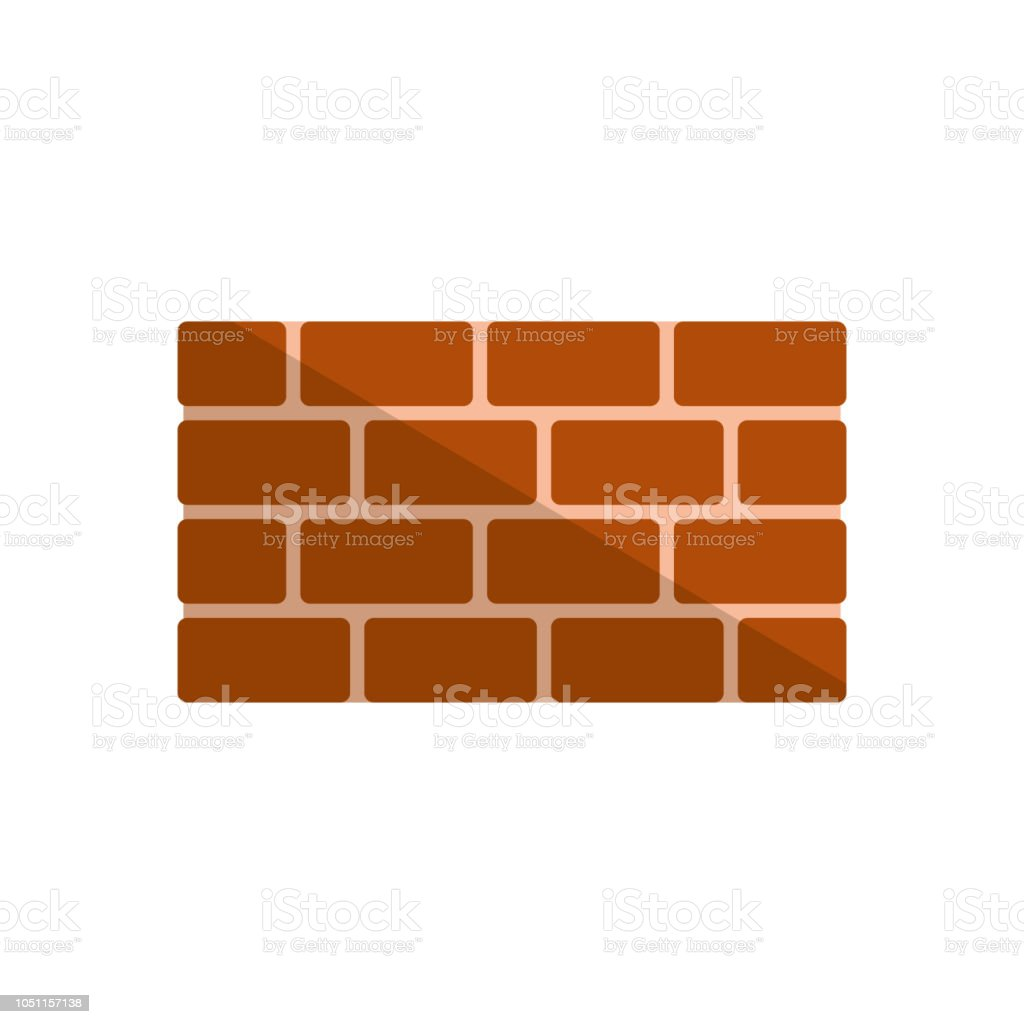 Bricks icon. vector illustration royalty-free bricks icon vector illustration stock illustration - download image now