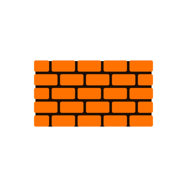 Brick Vector Picture Brick Veneers: Best Single Brick Illustrations, Royalty-Free Vector