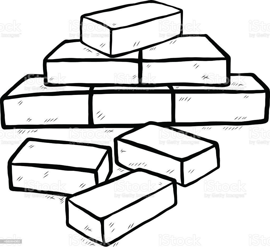 royalty free pyramid bricks clip art vector images illustrations rh istockphoto com brick clip art pattern buick clip art