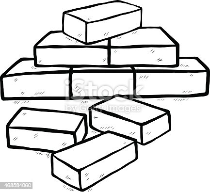 Bricks Stock Vector Art & More Images of 2015 468584060