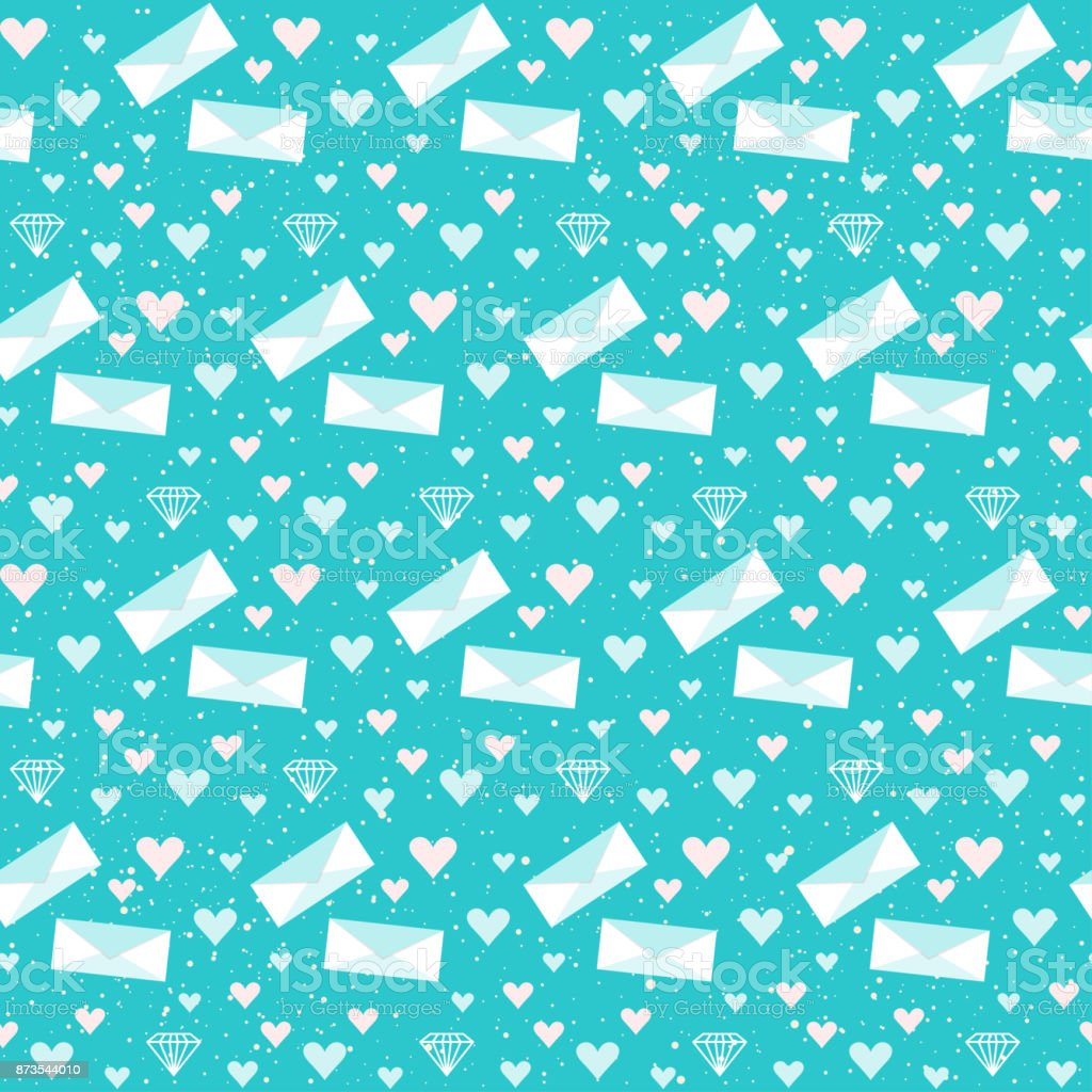Bridal Seamless Pattern Background For Wedding Card Invitation Wallpaper Royalty Free