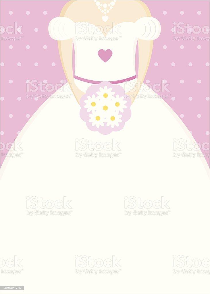 Bridal Shower Card royalty-free stock vector art