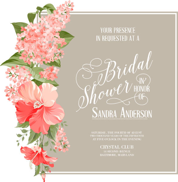 Bridal Shower Illustrations, Royalty-Free Vector Graphics