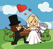 Bride and Groom Proposal