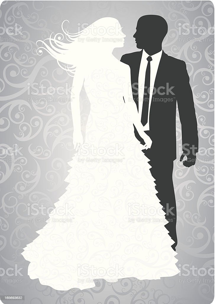 Bride and Groom royalty-free bride and groom stock vector art & more images of adult