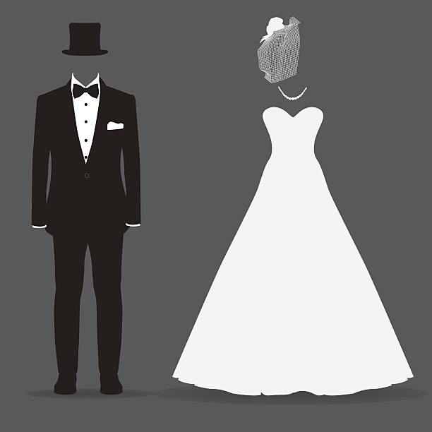 Wedding Gown Clip Art: Royalty Free Bridegroom Clip Art, Vector Images