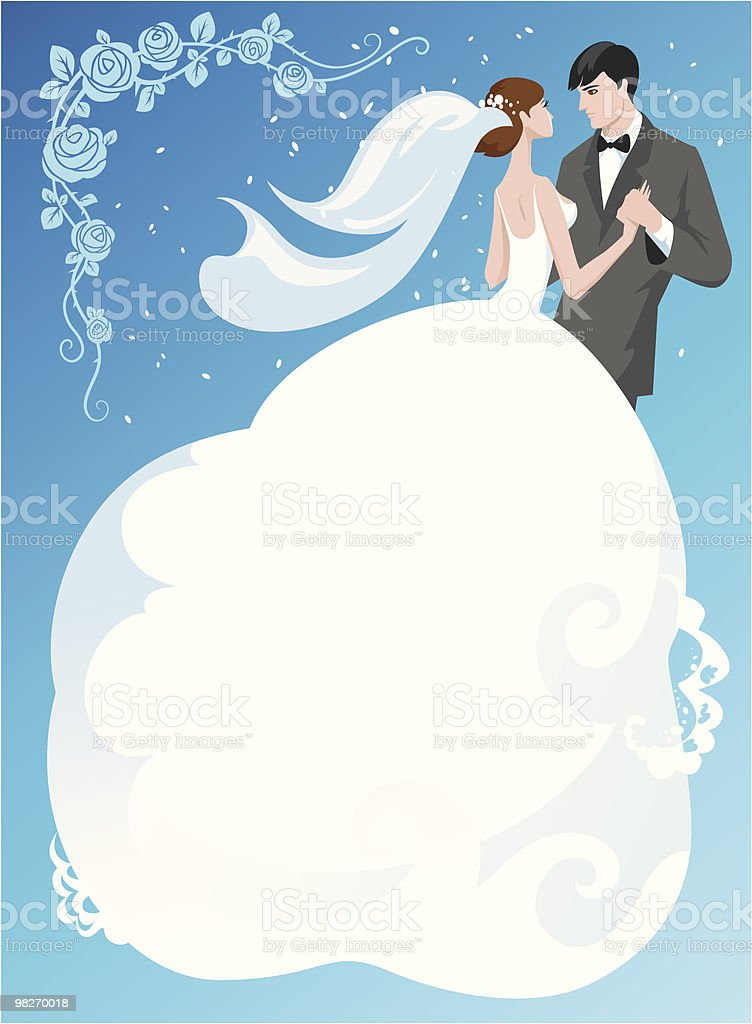 Bride and groom royalty-free bride and groom stock vector art & more images of anniversary