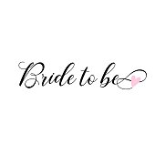 Bride to be, lettering. Card, invitations decoration.