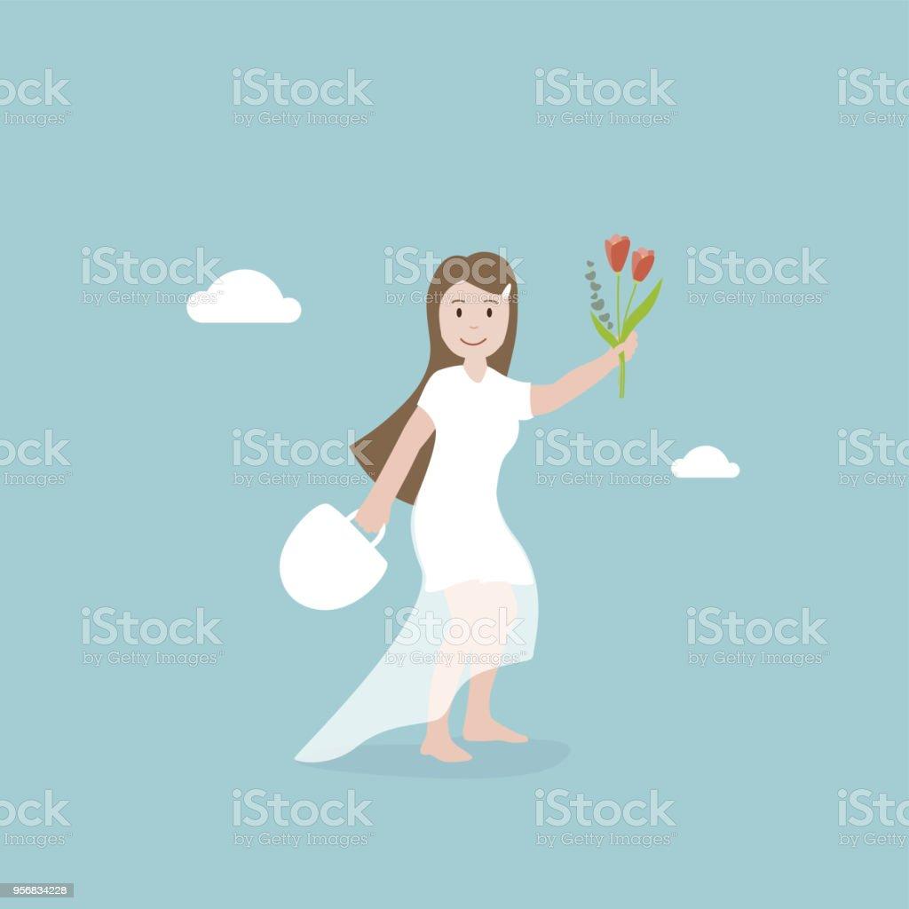 Braut Lizenzfreies braut stock vektor art und mehr bilder von abschied