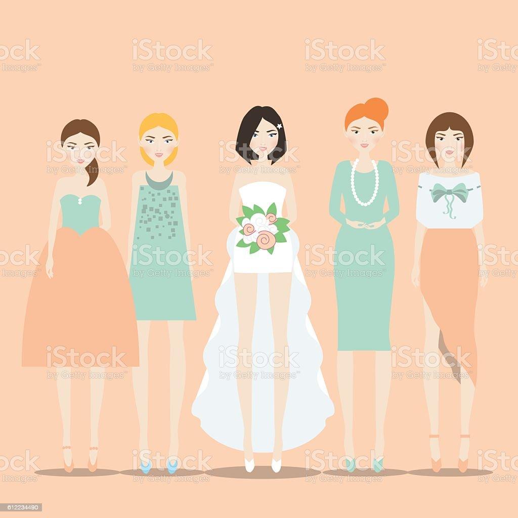 Bridesmaid Cartoon
