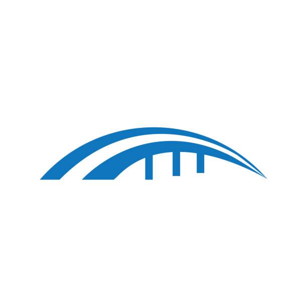 bridge icon and symbol - bridge stock illustrations
