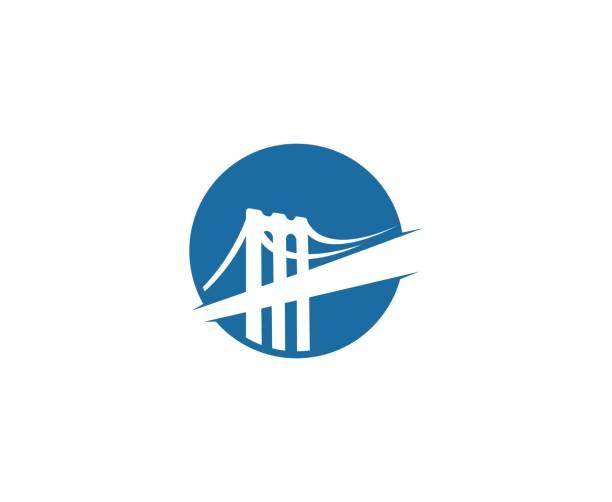 Bridge-pictogramvectorkunst illustratie