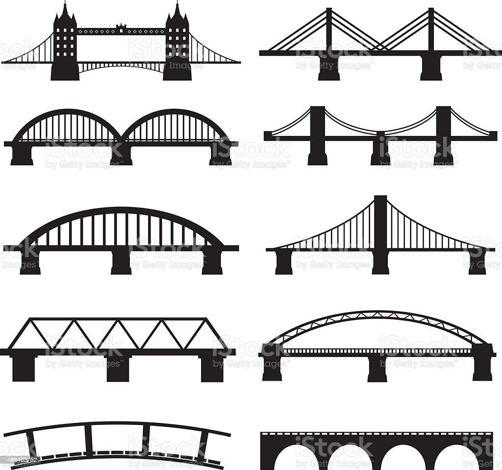 royalty free bridges clip art vector images illustrations istock rh istockphoto com bridge clipart png bridge clipart images