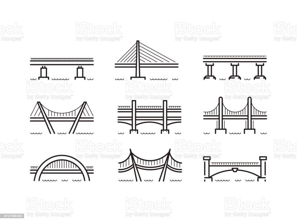 royalty free arch bridge clip art  vector images