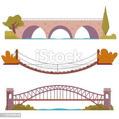 Bridge set with decor elements