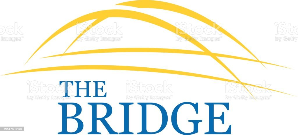 Bridge Symbol Design, Vector illustration