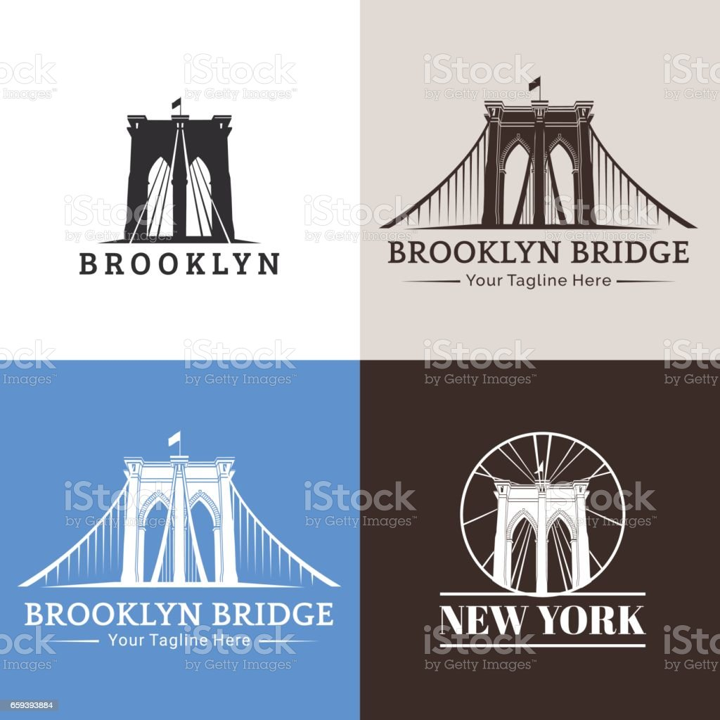Bridges vector art illustration