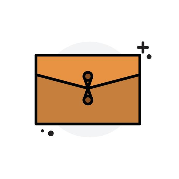 Briefcase concept Isolated Line Vector Illustration editable Icon vector art illustration