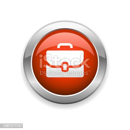 istock Briefcase Glossy Icon 1297277747