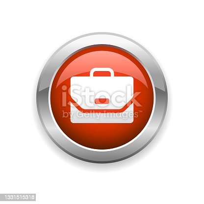 istock Briefcase Glossy Icon 1331515318