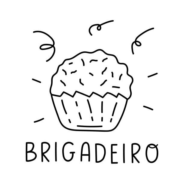 ilustrações, clipart, desenhos animados e ícones de brigadeiro. - brigadeiro