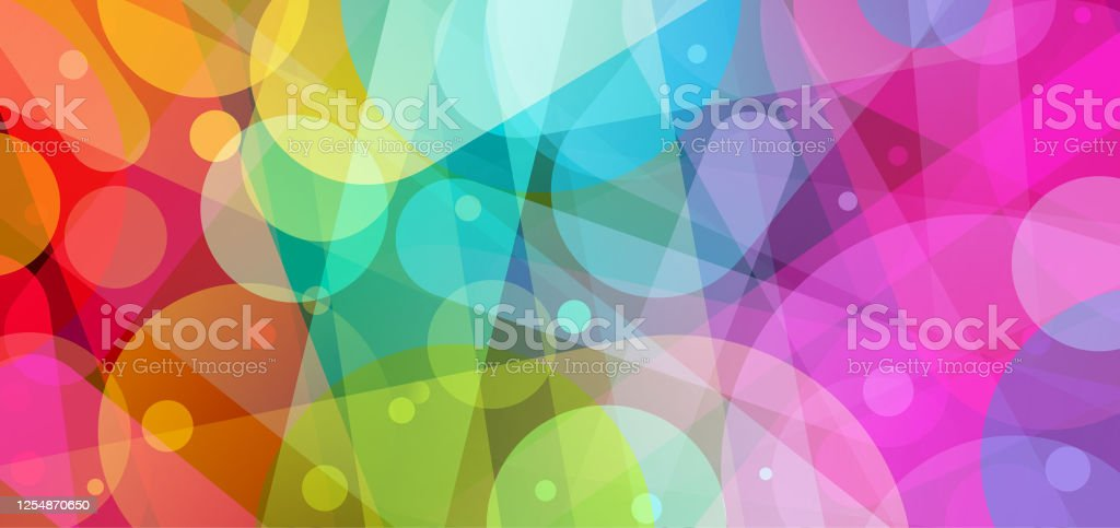 bright abstract background illustration Fun colorful abstract rainbow colored background vector illustration Abstract stock vector