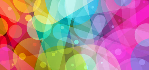 bright abstract background illustration