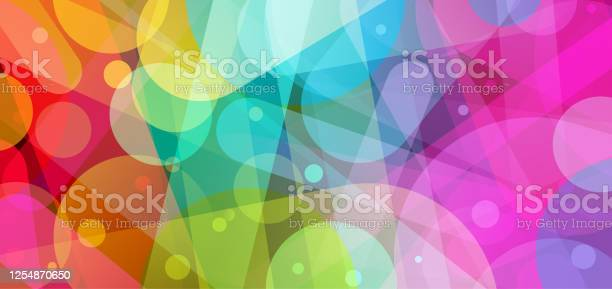 Bright Abstract Background Illustration Stock Illustration - Download Image Now
