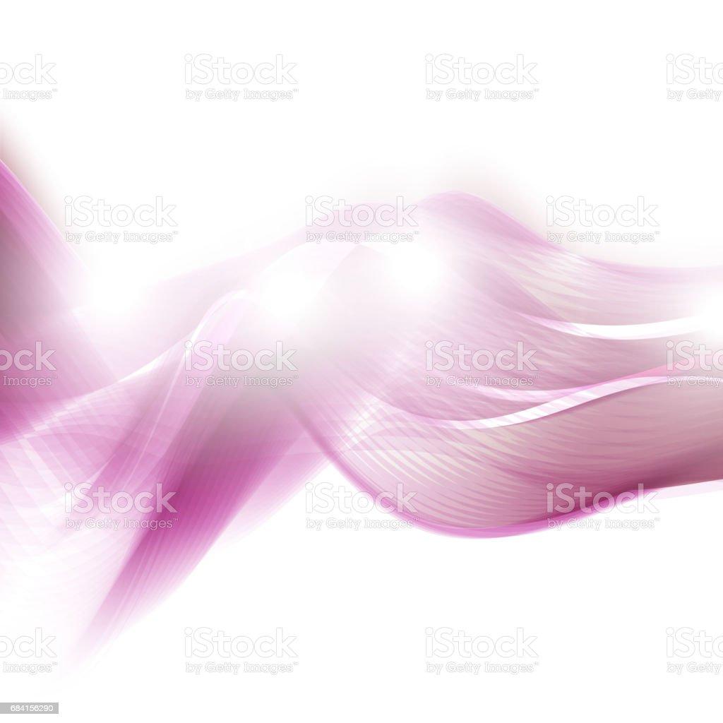 Fond Abstrait clair. Illustration vectorielle de couleur des lignes ondulées, fume fond abstrait clair illustration vectorielle de couleur des lignes ondulées fume – cliparts vectoriels et plus d'images de abstrait libre de droits