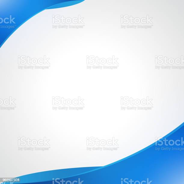 Bright Abstract Blue Elegant Background Stock Illustration - Download Image Now