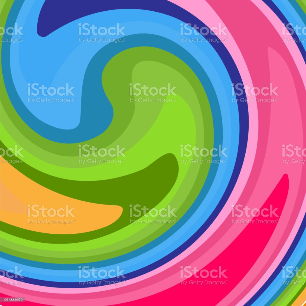 Bright abstract modern background A pattern of colorful lines twirled into a spiral Creative youth conceptual background for covers posters banners templates cards invitations for holidays Vector royalty-free bright abstract modern background a pattern of colorful lines twirled into a spiral creative youth conceptual background for covers posters banners templates cards invitations for holidays vector stock illustration - download image now