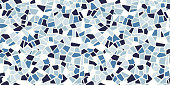 istock Bright abstract mosaic seamless pattern. Vector background. Endless texture. Ceramic tile fragments. 953764358