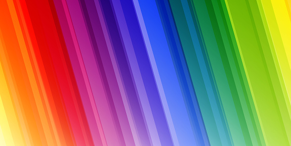 Bright abstract rainbow background