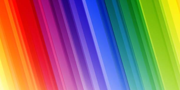 Bright abstract rainbow background vector art illustration