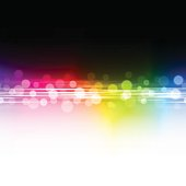 Abstract blurry rainbow colored light background