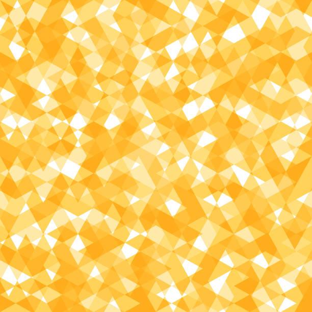 illustrations, cliparts, dessins animés et icônes de lumineux abstrait motif sans couture avec le jaune et blanc lozenges - pastille
