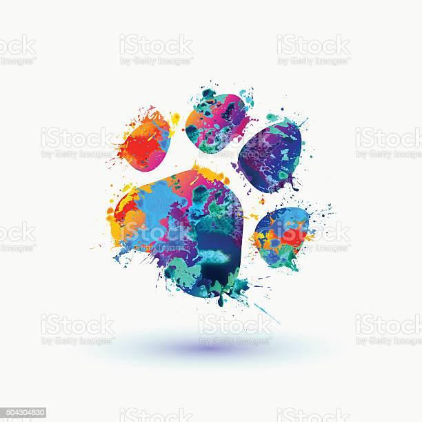 Bright animal footprint icon vector id504304830?b=1&k=6&m=504304830&s=612x612&h=vzoinwwsjcezxlgvdxm 8hvscxultled0yy3mwwplms=