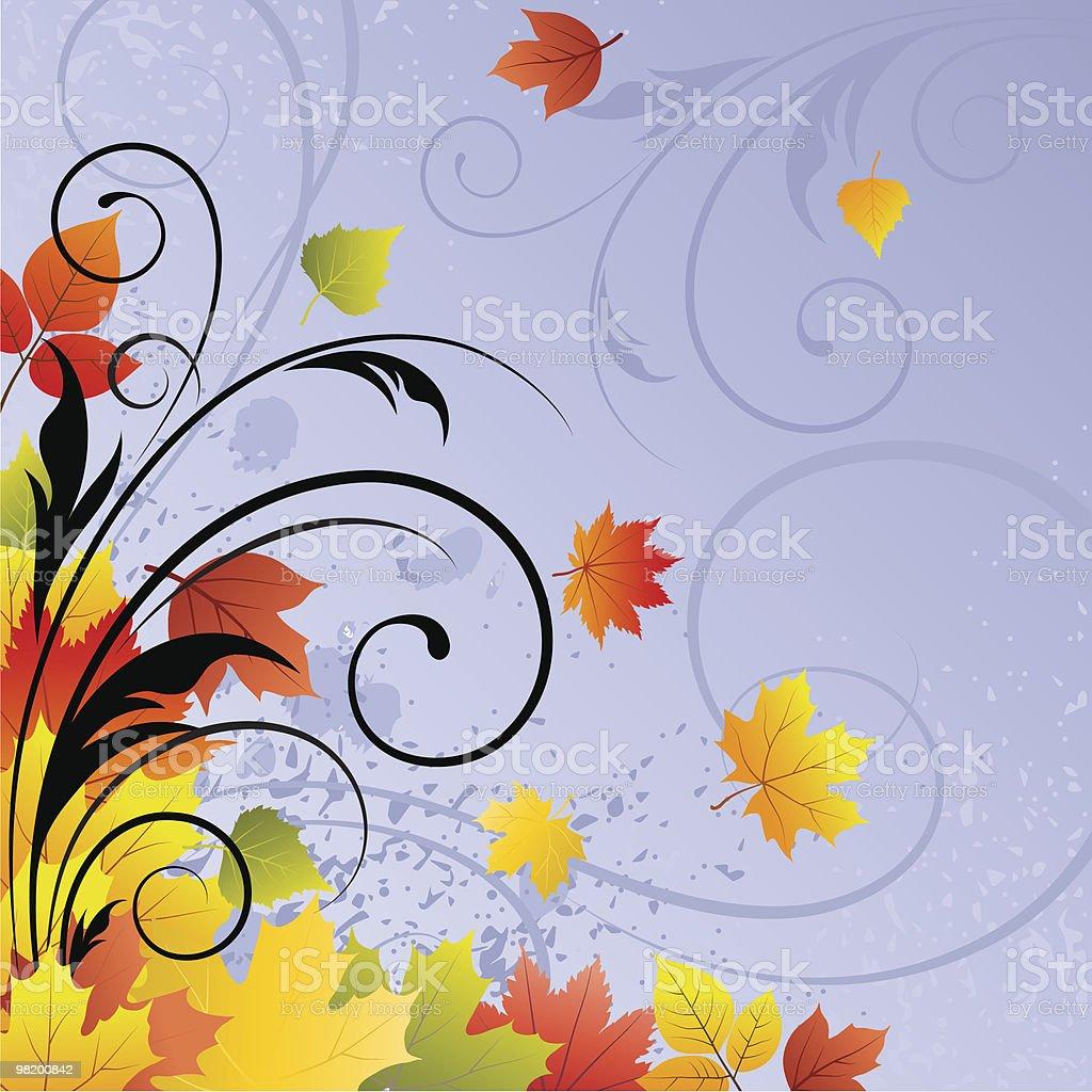 Autunno design luminoso autunno design luminoso - immagini vettoriali stock e altre immagini di acero royalty-free