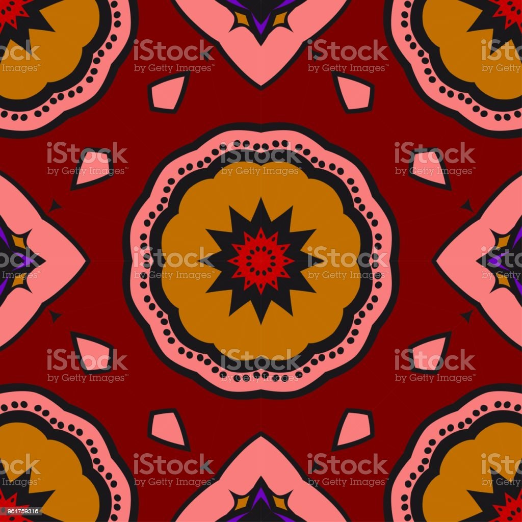 Bright color seamless art pattern. fantasy ornament. vector illustration royalty-free bright color seamless art pattern fantasy ornament vector illustration stock vector art & more images of abstract