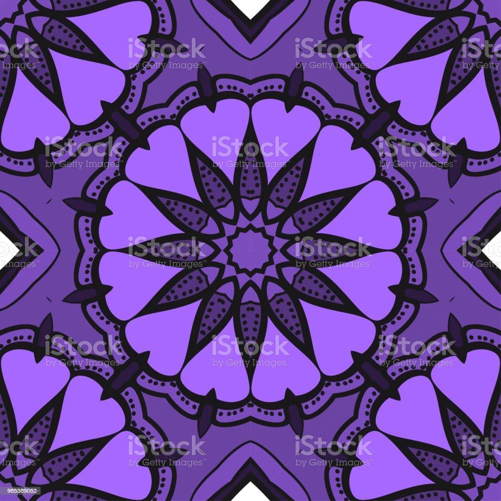 밝은 색상 완벽 한 아트 패턴입니다. 판타지 장식입니다. 벡터 일러스트 레이 션 - 로열티 프리 가을 벡터 아트